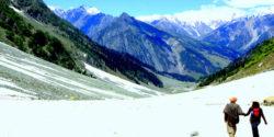 Thajiwas-Glacier